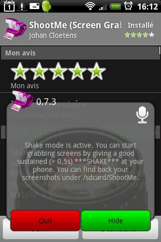 Screenshot ShootMe