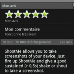 Screenshot ShootMe Market
